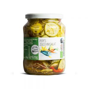 Pepis Bio Zucchinisalat 670g