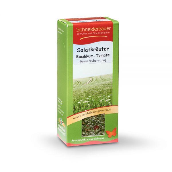 Salatkräuter Basilikum Tomate