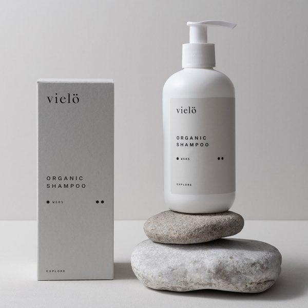 Shampoo mit Verpackung